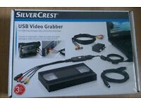 Brand new VHS to USB video grabber