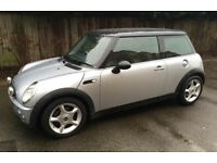 MINI COOPER LOW MILEAGE AIR CONDITIONING SERVICE HISTORY ONE YEARS MOT GOOD CONDITION MINI COOPER S