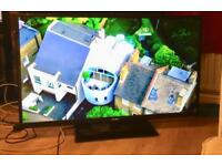 """BUSH 50"""" LED TV FREEVIEW USB MEDIA HDMI CAN DELIVER."""