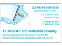 JJ DOMESTIC AND INDUSTRIAL CLEANING SERVICES