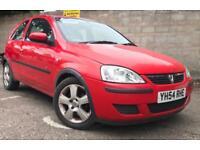 Vauxhall corsa 1.2 2004 *full service history* *12 months mot* *low mileage*