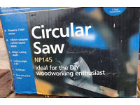 Circular Saw, used, 40mm cut