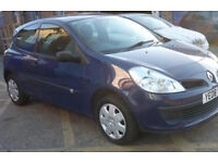 1.2 blue Clio for sale 1100 no offers I ALSO BUY DAMAGED OR NON RUNNERS