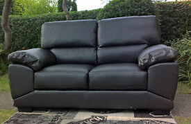 A New Oregon Brown Leather 2 Seater Sofa ( two available )