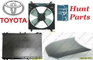 Toyota Camry 1997 1998 1999 2000 2001 Hood Hinge Latch Ignition Coil Lower Ball Joint Control Arm Radiator Fan Support
