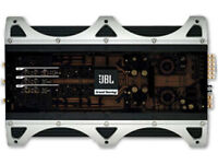6-ch / car amp / JBL Grand Touring Series GTO755.6 II / all cables / mint condition - Only £100 !