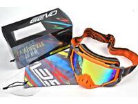 Motocross goggles , MX mtb goggles downhill xmas gift present dh Ktm