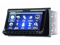 IN CAR SUBWOOFER AND AMPLIFIER FOR SALE - TV, RADIO, DVD, BLUETOOTH, BASS BOX