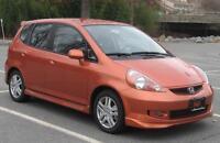 Honda fit 2007 , 134 000 km