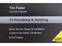 Plumbing and Heating Services ~ Gas Safe