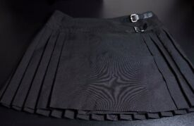 Women skirt/ Black / Size 12/ Mini skirt/ Party skirt
