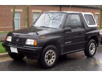 Suzuki Vitara for an offroader - Cash and recovery truck waiting for right vehicle