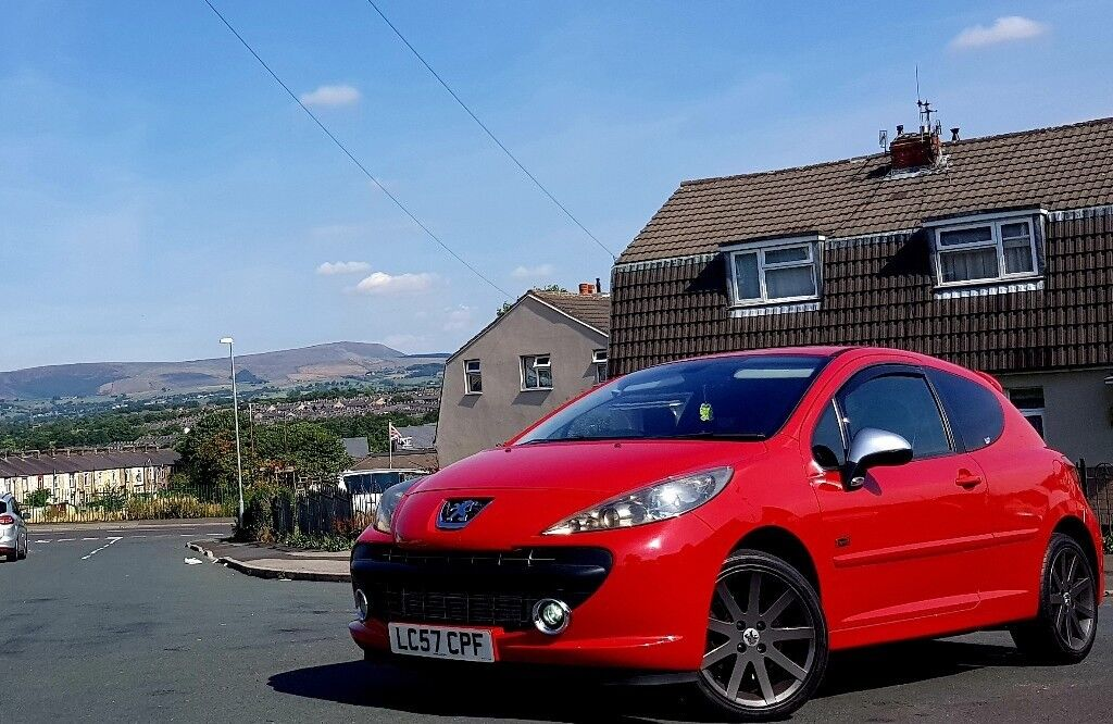 Peugeot 207 Gti 2008 Stage 2 With Mods