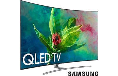 """Samsung QN55Q7CN 2018 55"""" Curved Trim Q LED 4K Ultra HD TV with HDR QLED"""