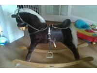 Mama and papa rocking horse