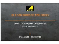 Domestic Appliance Repairs(Washing machines/Tumble Dryers/Cookers)Maintenance/Gas cooker installs