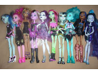 2nd Bundle of Monster High Dolls (Free Local Delivery)