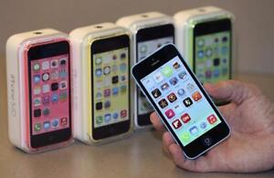 "Iphone 5C 16&32GB-New/Unlocked in Box w/All Accessories with Warranty199.99 & 229.99 $ - Buy from a Store ""4167229406"""