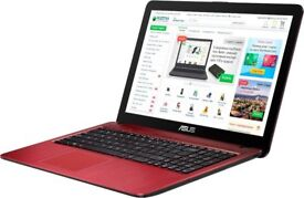"ASUS X502C Devil Red Laptop 15.6"" Widescreen with a very fast Intel Core i3-3217U Processor"