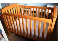 ★WOODEN Cot/Junior BED ★ Boori Country Collection ★ FOR SALE ★ LOTS of EXTRAS ★Adjustable base/sides