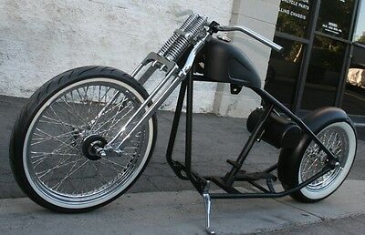 2018 Custom Built Motorcycles Bobber  MMW OG OLD SCHOOL STOCK TIRE WHITEWALL BOBBER