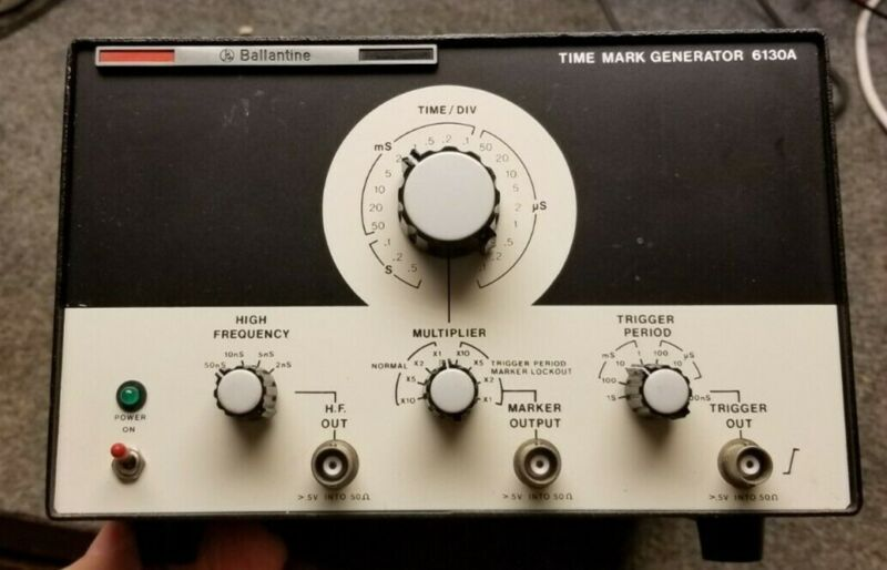 Ballantine 6130A Time Mark Generator Works great Free Shipping