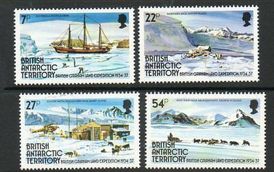 BRITISH ANTARCTIC TERRITORY 1985 GRAHAM LAND SET FINE UM/MNH