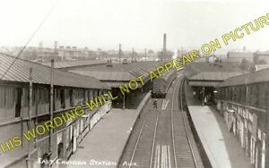 East Croydon Railway Station Photo. Selhurst - Purley and Coulsdon Line. LB&SCR