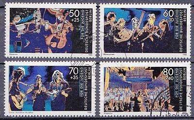 Berlin  807 -810 gestempelt Jugend musiziert 1988