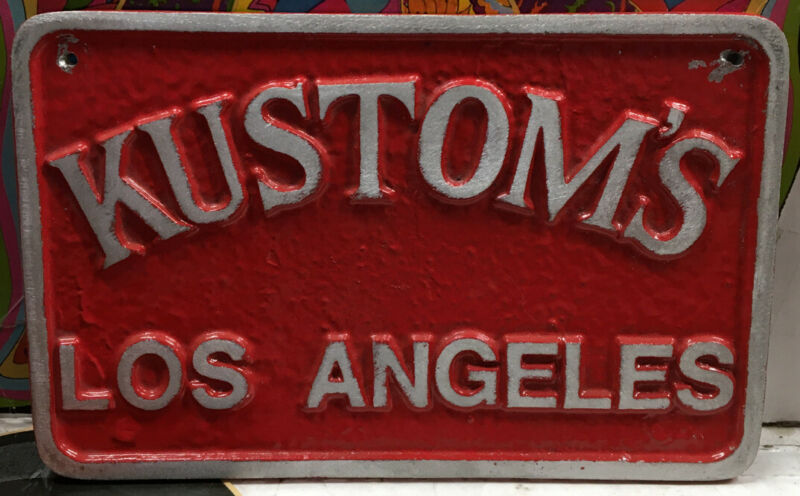 Kustoms Los Angeles Car Club Plaque