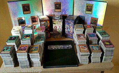 Viele Yu-Gi-OH Karten inkl. 7 seltene +1 Booster (Sammlung Deck mit Holos Ultra)