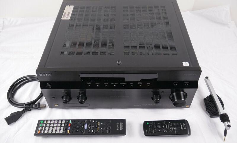 Sony STR-DA5600ES AV RECEIVER 7.1 Channel, 130W x 7, 6 HDMI 1.4 inputs, 3D