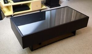 Stylish IKEA coffee table - glass top & storage drawers Woolloomooloo Inner Sydney Preview