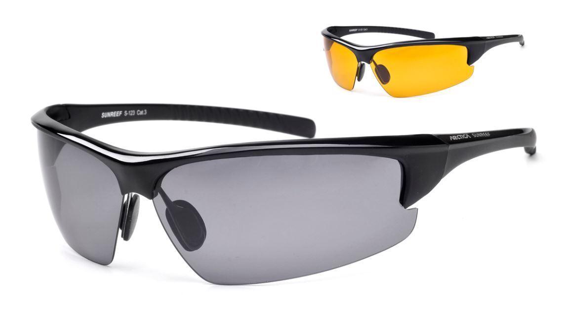Herren Sonnenbrille Brillen Polarisiert schwarz Sportlich biker RADBRILLE Racing