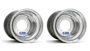 DWT Polished Rear Wheels Rims 9