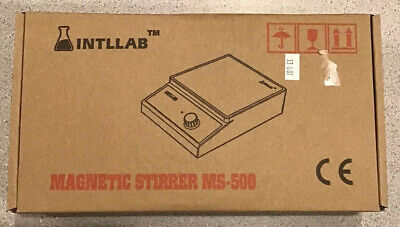 New Intllab Magnetic Stirrer Stainless Steel Magnetic Mixer Ms-500
