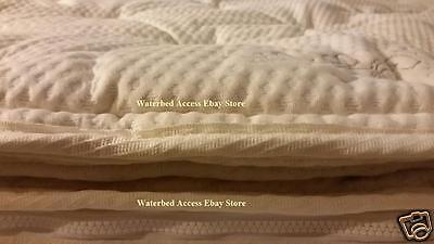 King PillowTop Zipper Cover For Softside Waterbed Mattress