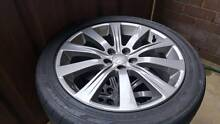 Subaru Impreza genuine WRX wheels Shellharbour Shellharbour Area Preview