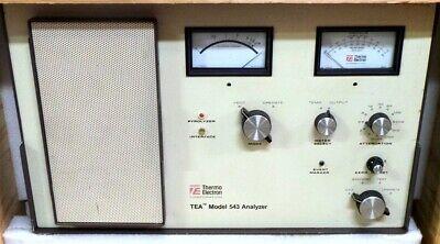Thermo Electron 543 Tea Analyzer Gas Chromatographic Nitroso Nitro