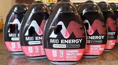Mio Energy Strawberry Pineapple Smash Liquid Water Enhancer 1.62 oz (6 Pack)