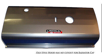 Lincoln Sa-200 F-163 F-162 Oem Redface Old Style Hood Bw130
