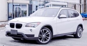2013 BMW X1 28i with Red sport package & Pano Roof, low click
