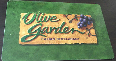 Olive Garden Restaurant Limited Ed 2014 Collectible Gift Card New No Value