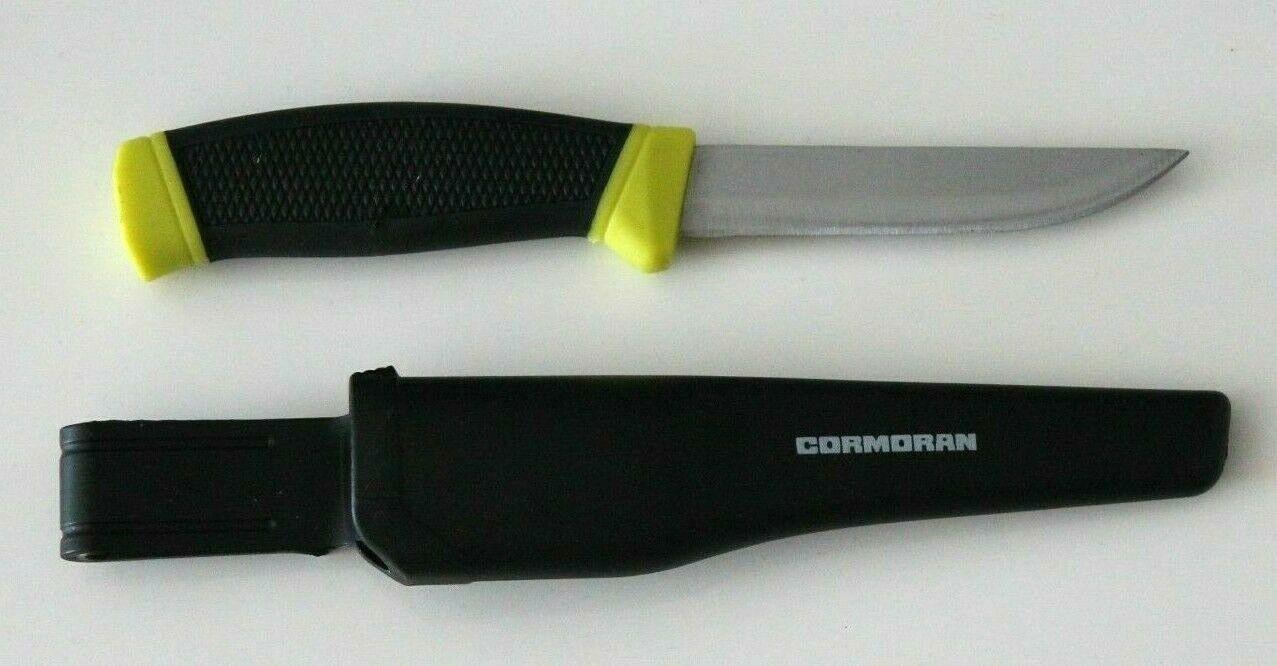 Cormoran Messer Anglermesser Jagdmesser 21cm mit Gürtelhalter