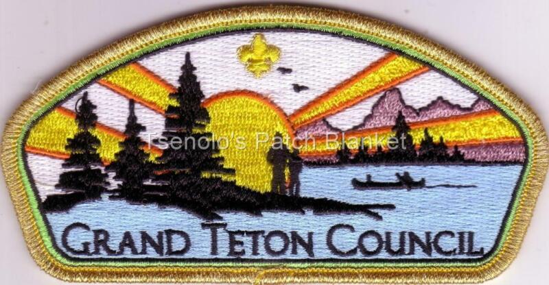 Grand Teton Council 2020 District Thank You CSP Mint Condition FREE SHIPPING