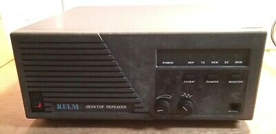 Relm Dru2501a Uhf 25watt Repeater 400-420mhz Currently Rx 419.55 Tx 414.550