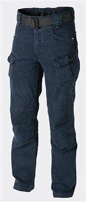 HELIKON TEX URBAN TACTICAL PANTS UTP Freizeit HOSE Denim Blue LL Large Long Blue Denim Bekleidung