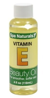 2 Bottles of Spa Naturals Vitamin E Beauty Oil For Smoother Softer Skin 4oz