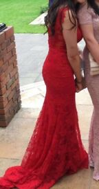 Red prom dress / any offers will be accepted
