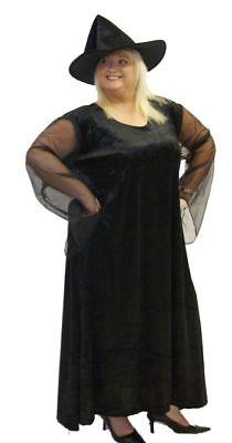 Halloween Costumes All Fancy Dress (HALLOWEEN Black Witch & Hat Fancy Dress All PLUS)